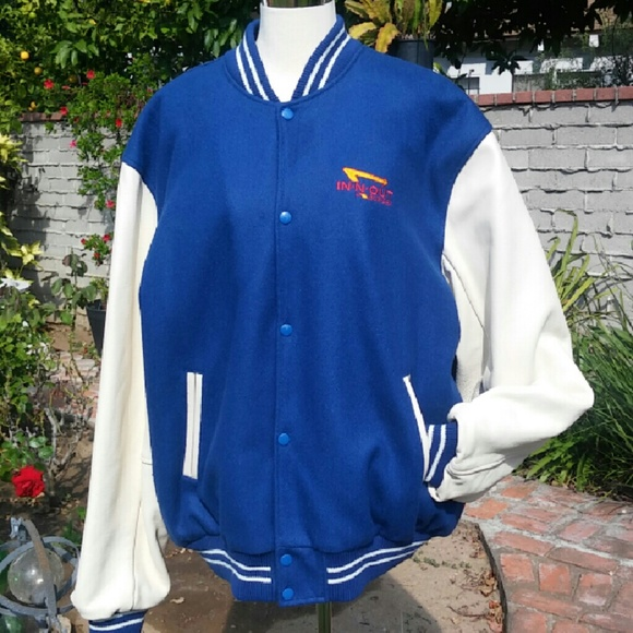 ab6c4bedf NEW Genuine IN-N-OUT BURGER Letterman jacket XXL NWT