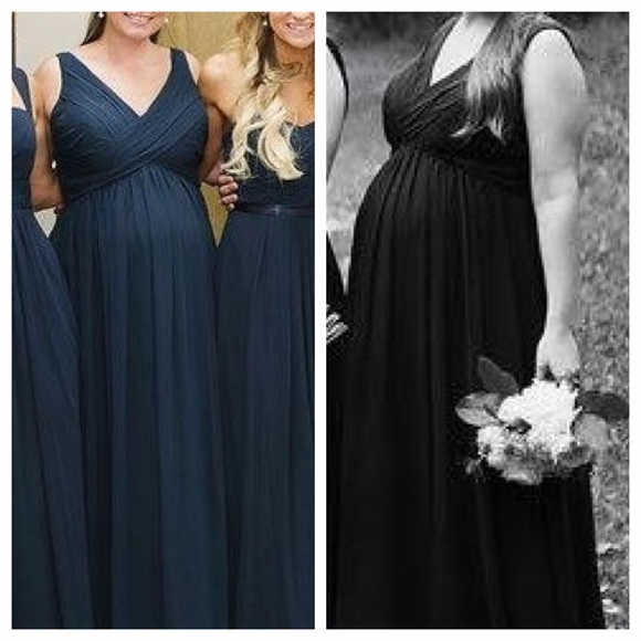 79966824e6daf Bill Levkoff Dresses & Skirts - Navy Bill Levkoff maternity formal.