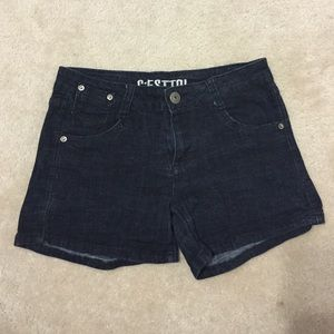 C'esttoi Pants - Dark Blue Shorts