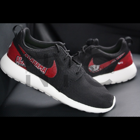 Alabama Crinson Tide Nike Roshe One Custom Women
