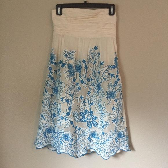 82 Off Anthropologie Dresses Skirts Vanessa Virginia