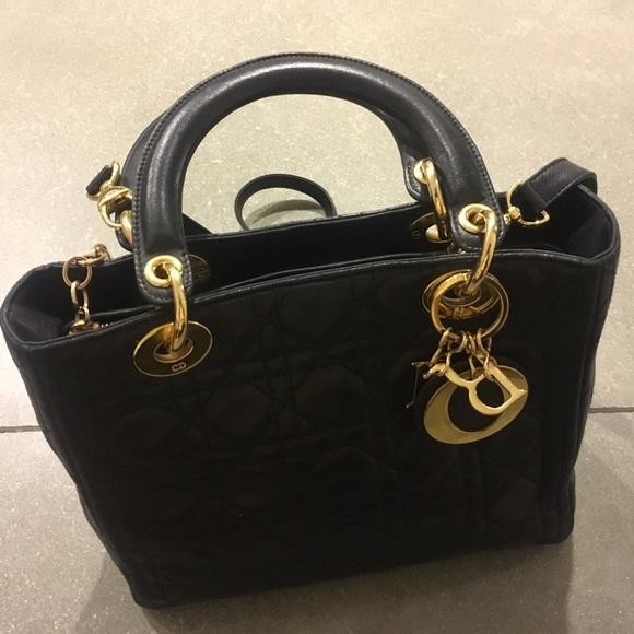 Dior Handbags - Lady Dior bag preloved one 6bf826c691493