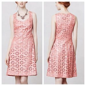 Anthropologie Coralshine Dress NWT