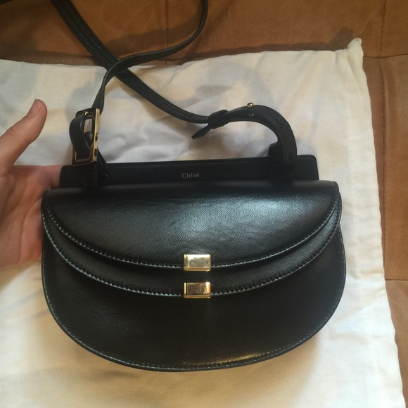 Chloe Handbags - Chloe Georgia bag in black f6b74e60df