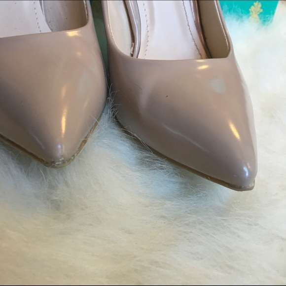 Charlotte Russe Shoes - 9 Nude Pointed Toe Pumps