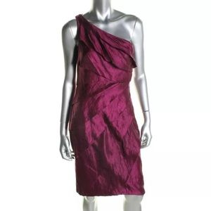London Times Dresses & Skirts - NWT⭐️London Times One Shoulder Cocktail Dress