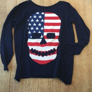 Tops - Skull sweater