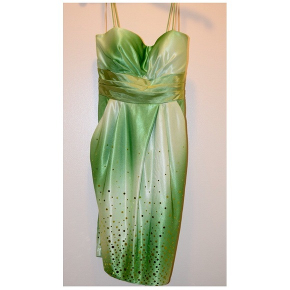 Jump Dresses Green Semi Formal Dress Poshmark