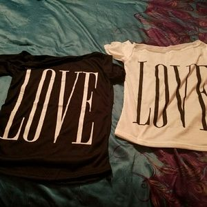 Tops - Short sleeved shirts (size Medium but fits small)