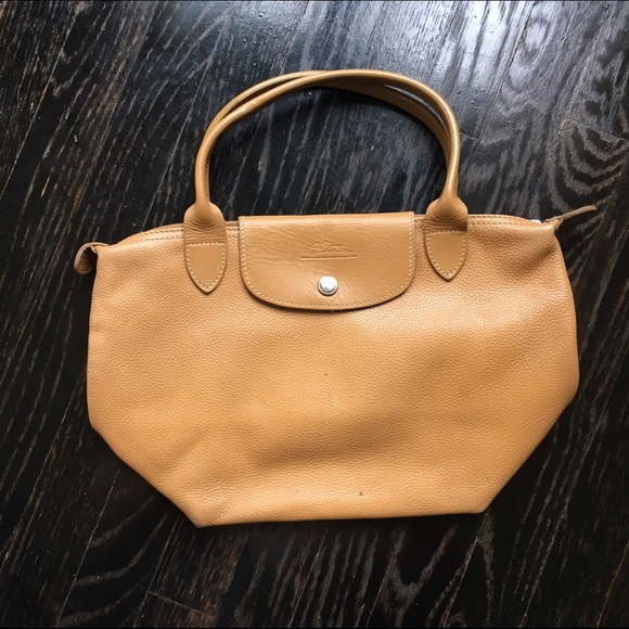 LONGCHAMP veau foulonne leather tote