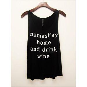 Tops - Namast'ay Home & Drink Wine Top