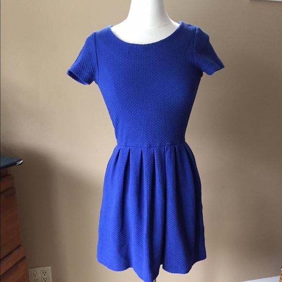 a0613dda Anthropologie Dresses & Skirts - LAST CALL! Anthropologie Ganni Label Blue  Dress