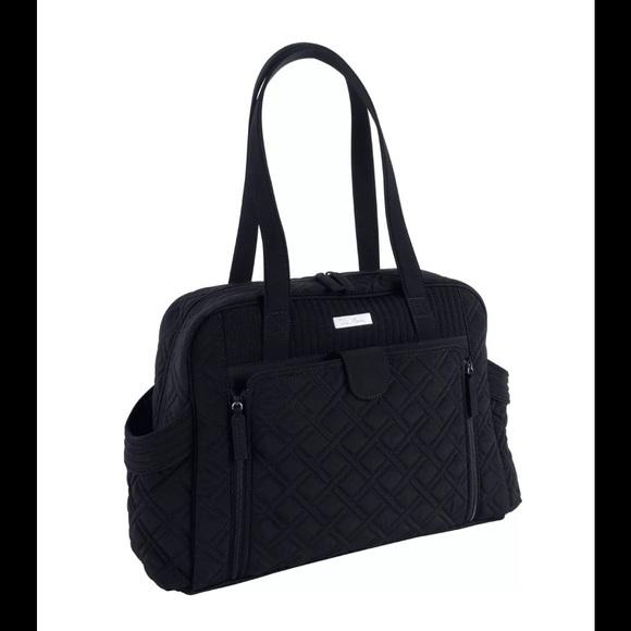 46 off vera bradley handbags vera bradley make a change baby bag black nwt. Black Bedroom Furniture Sets. Home Design Ideas