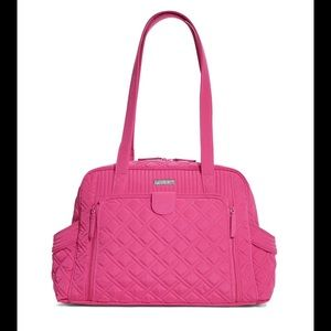 Vera Bradley Make A Change Baby Bag Fuchsia NWT