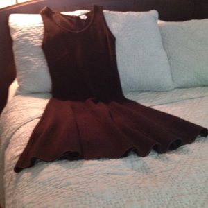 Armani Collezioni brown wool dress