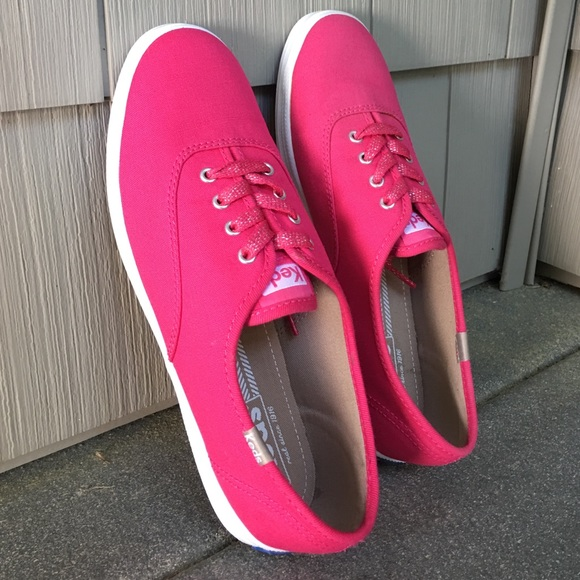 Keds Shoes | Keds Neon Pink Sneakers
