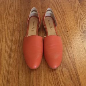 Emerson Fry Smoking Loafer orange 39 8.5 in box