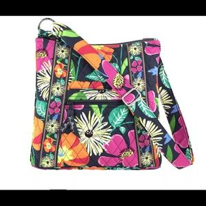Vera Bradley Hipster Crossbody bag Jazzy Bloom NWT