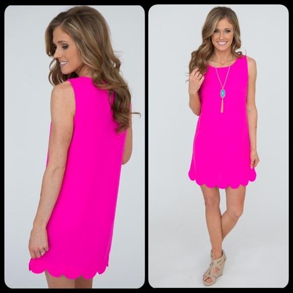Hot Pink Short Dresses so Pretty