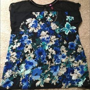 Hello miz Tops - floral maternity shirt