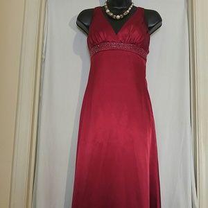 Davids Bridal Dresses Davids Bridal Red Wine Formal Prom Dress