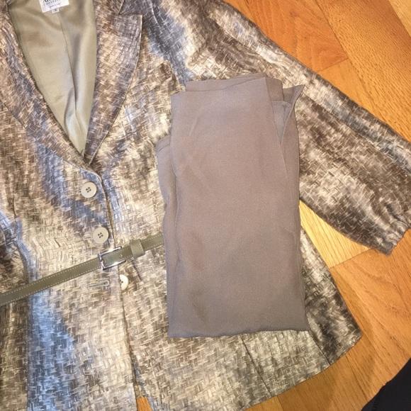 Armani Collezioni Jackets & Coats - Armani Collezioni linen silk blend suit