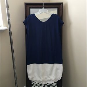 88e2c13c39b Madewell Dresses | Layout Tunic Dress In Colorblock | Poshmark