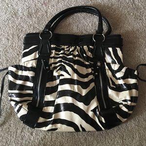 ALDO Zebra purse