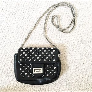 Handbags - Studded black purse