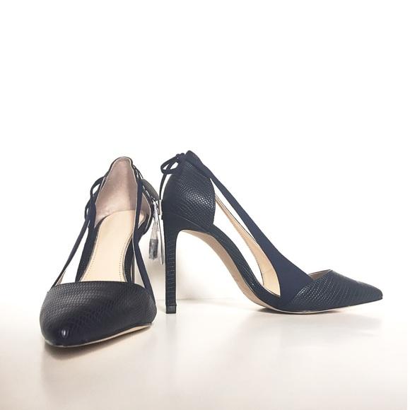 59% off Zara Shoes - Zara Midnight Blue Heels from Aasha's closet ...