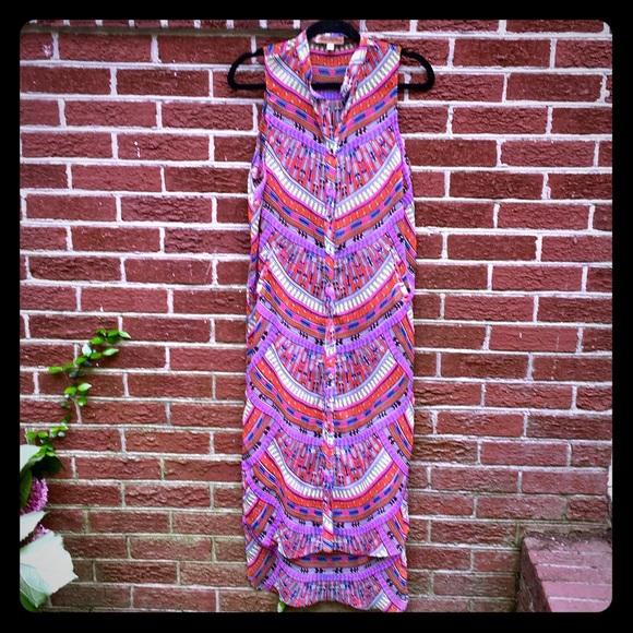 NWOT Mara Hoffman button down dress size Small