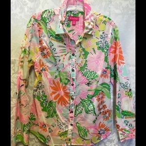 Lilly Pulitzer for Target Summer Blouse