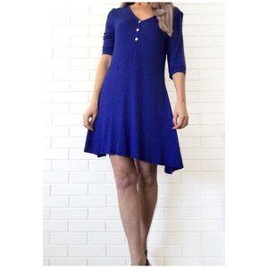 Boutique Dresses & Skirts - Make Bundle Offer • Royal Blue Trapeze Hem Dress
