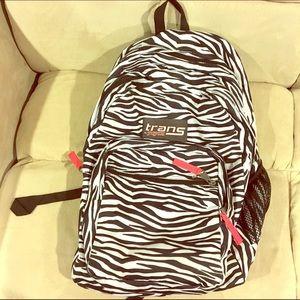 Jansport trans zebra backpack
