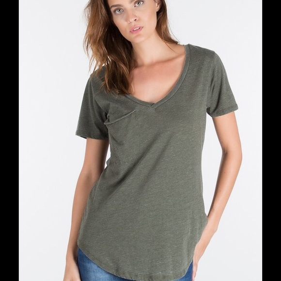 d456ccbc Z Supply Tops | Rosin Pocket Tee | Poshmark