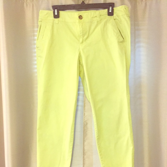 60% off Old Navy Pants - 12 - Old Navy - Lime Green Capri Pants ...