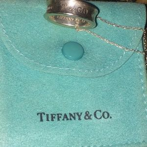 Tiffany & Co. Sterling Silver Ring/necklace