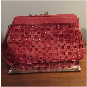 Linea Pelle Handbags - Sale*Linea Pelle wristlet - clutch purse