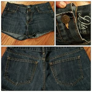 Old Navy Pants - Old Navy Diva Denim Shorts