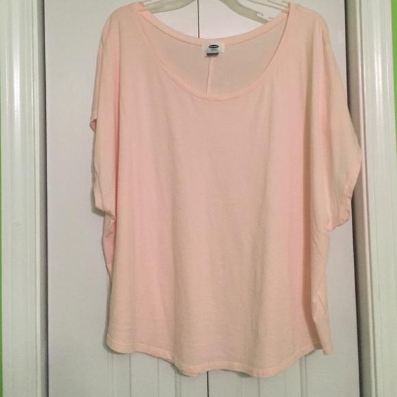 Old Navy - Light Pink Oversized Shirt from Laura's closet on Poshmark