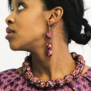 Jewelry - Neckless and earrings urban zulu