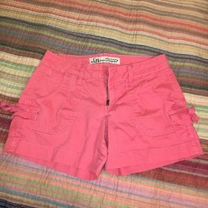 LEI Coral Shorts