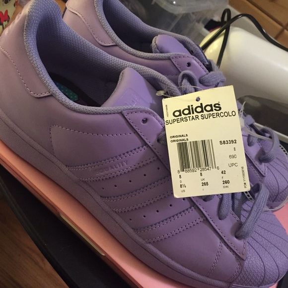adidas superstar purple