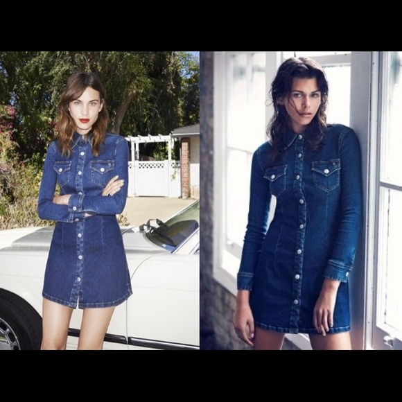 3247768bfa AG Adriano Goldschmied Dresses   Skirts - FLASH SALE  Alexa Chung for AG  Pixie denim