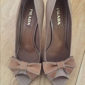 Prada Open Toes Heels - Authentic Sz 41