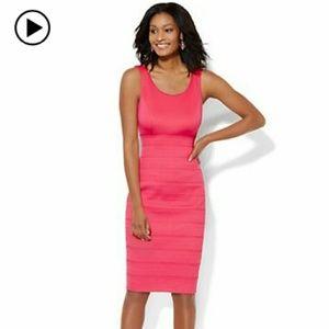 Bandage Hot Pink Dress