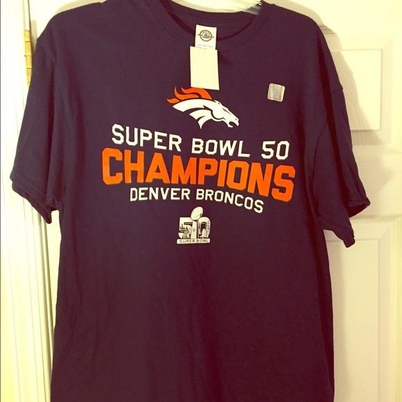 🏈NFL Denver Broncos Football Super Bowl T-Shirt 9c4bd861c