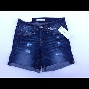 Klique B Shorts dark denim. All sizes
