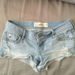 Hollister jean shorts -sz 1