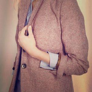 Appleseed's Jackets & Blazers - APPLESEED'S Petites Vintage Tweed Blazer Jacket
